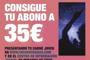 Imagen para Tu abono para EBROVISÓN solo 35€